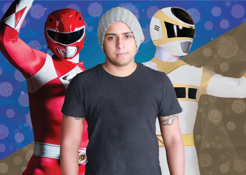 Entrevista: Heitor Lemos, Designer dos atores de Power Rangers