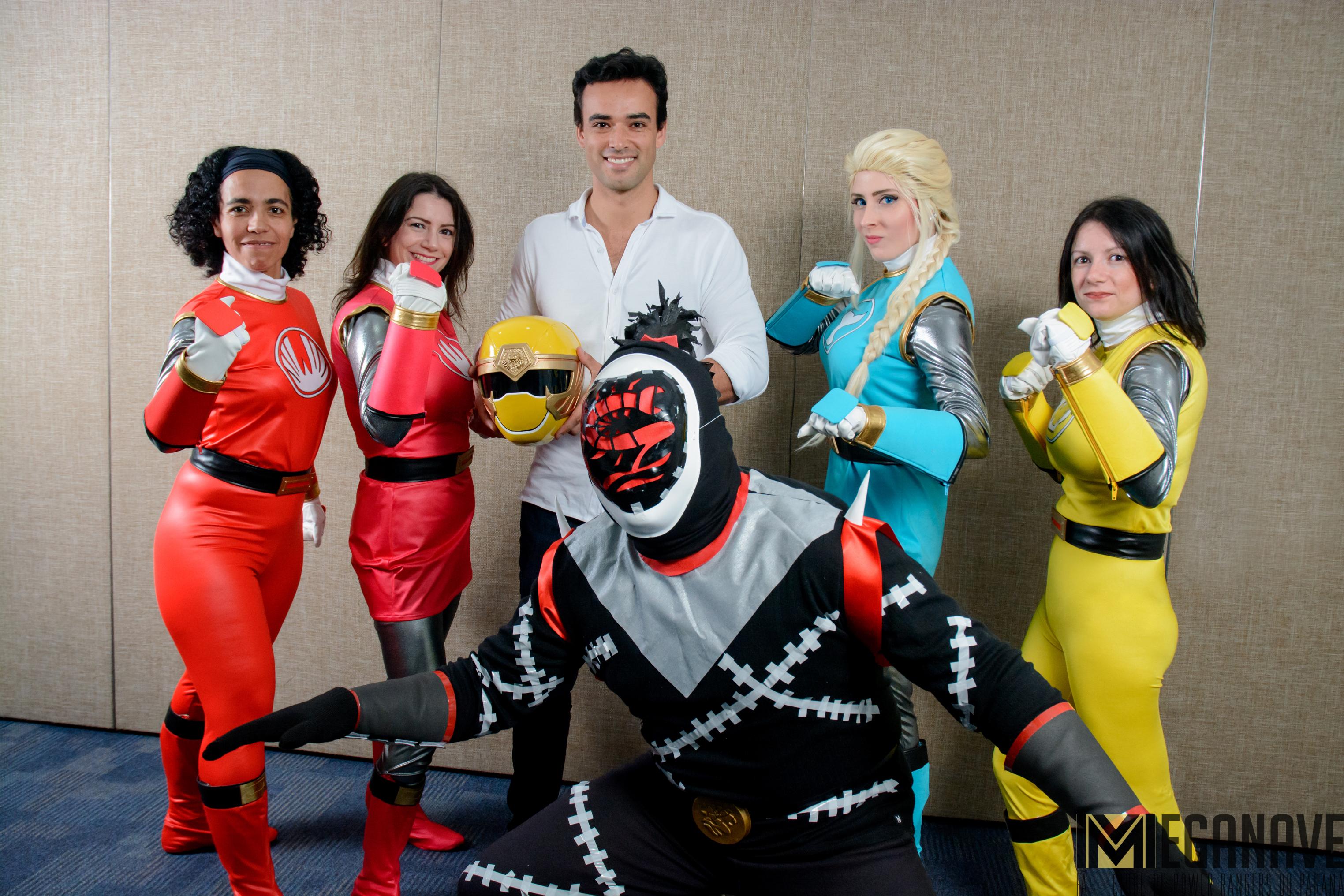 Entrevista: Glenn McMillan, o Ranger Amarelo de Power Rangers Ninja Storm – 2017