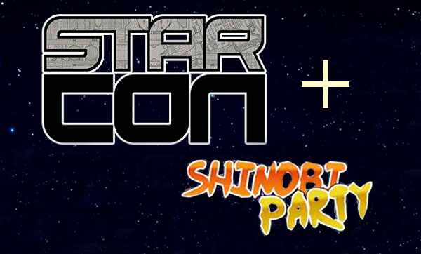 Star Con + 3º Shinobi Party – 3 de Dezembro em Curitiba