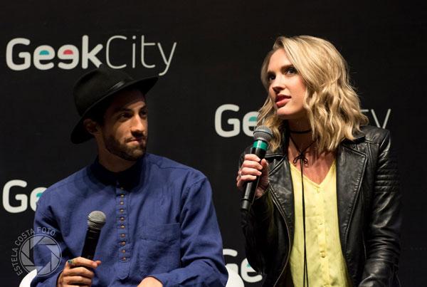 Ciara Hanna & Azim Rizk no Brasil