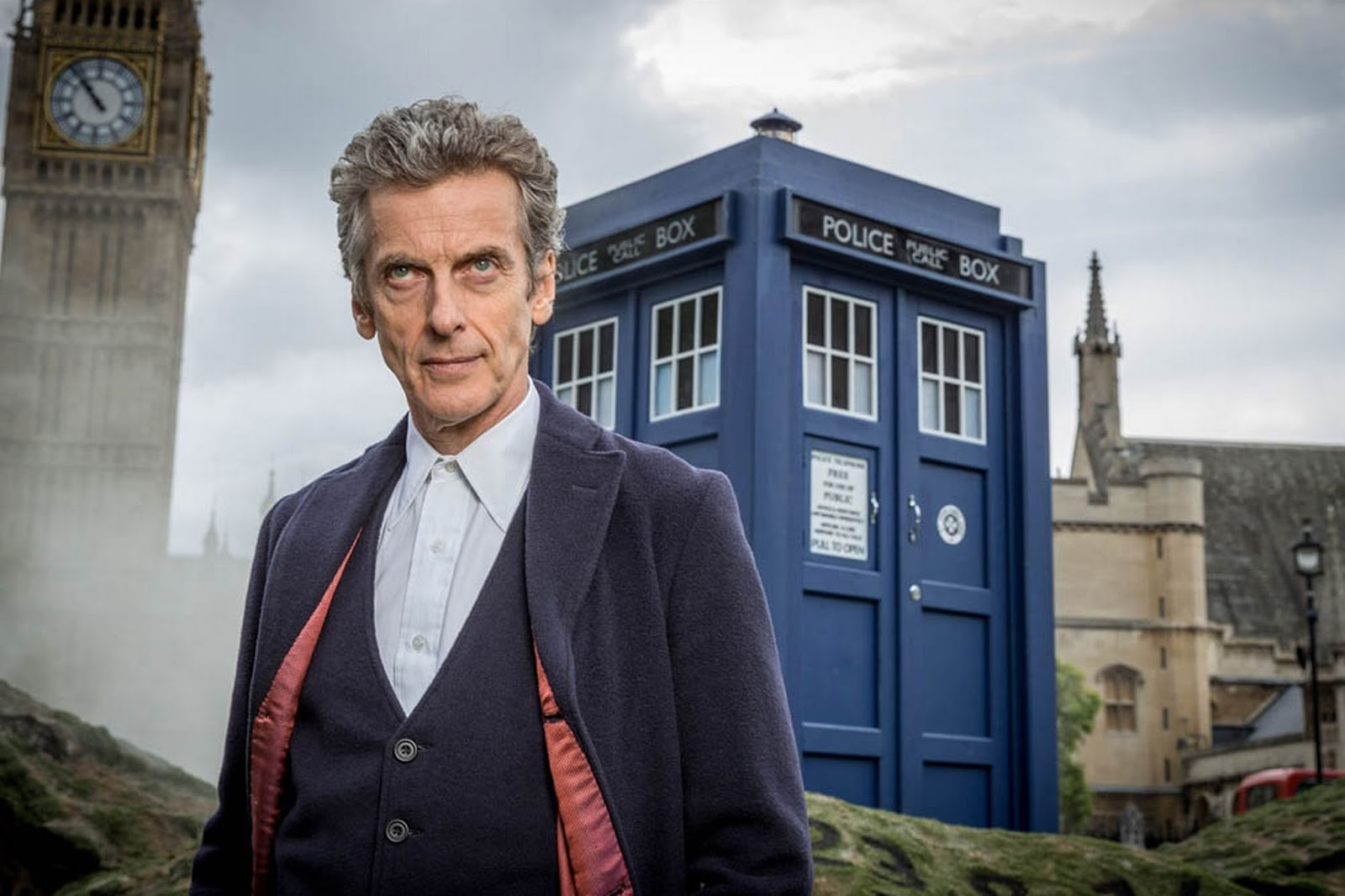 Conheça Peter Capaldi, o NOVO DOCTOR!