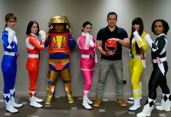 Entrevista: Steve Cardenas, o Ranger Vermelho de Mighty Morphin Power Rangers e Azul em Power Rangers Zeo