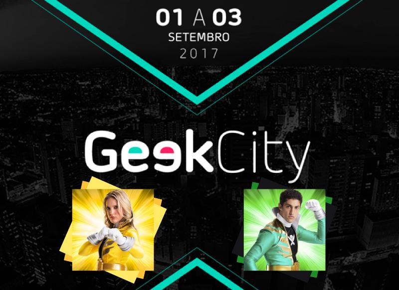 Geek City + Ciara Hanna & Azim Rizk no Brasil