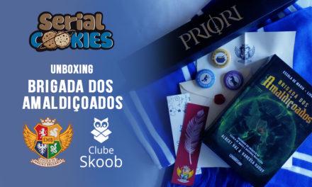 """Unboxing da Caixa """"Brigada dos Amaldiçoados"""" + Clube Skoob (EMB)"""