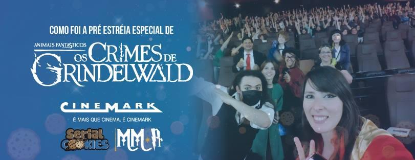 Pré-estreia de Animais Fantásticos 2 no Cinemark Barigui