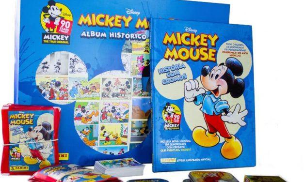 Panini celebra 90 anos do Mickey com exposição inédita e livro ilustrado