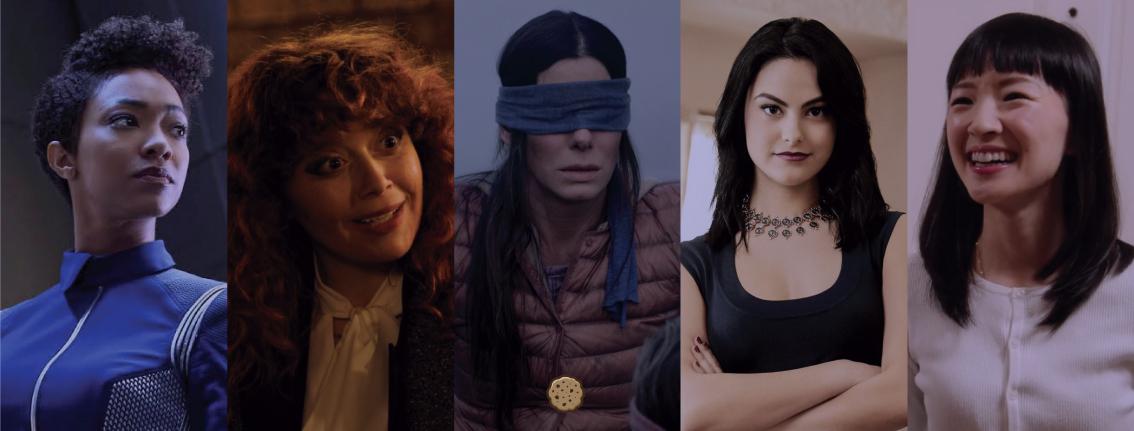Top Cookies: 5 mulheres empoderadas para curtir na Netflix - Serial