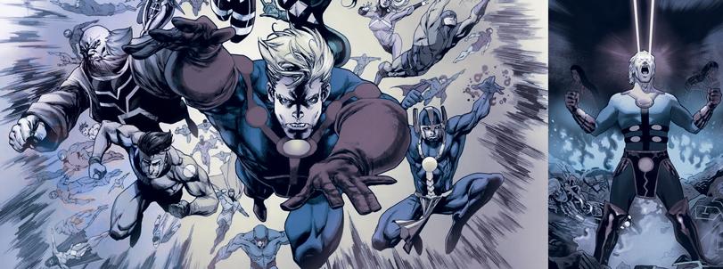 Os Eternos e o Desbravamento do Cosmos da Marvel