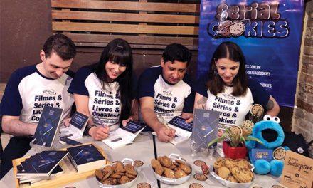 Como foi o lançamento do Livro Serial Cookies