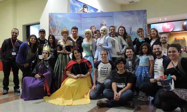 O reino de Frozen II invade o Cinemark Mueller