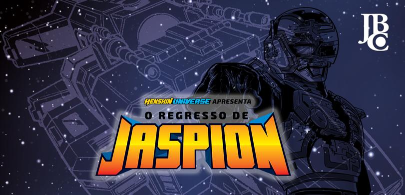 O AGUARDADO MANGÁ BRASILEIRO DO JASPION JÁ ESTÁ ENTRE NÓS