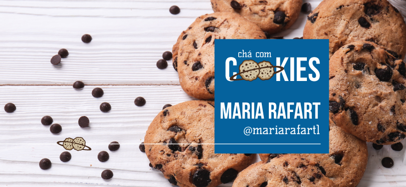 CHÁ COM COOKIES RECEBE MARIA RAFART
